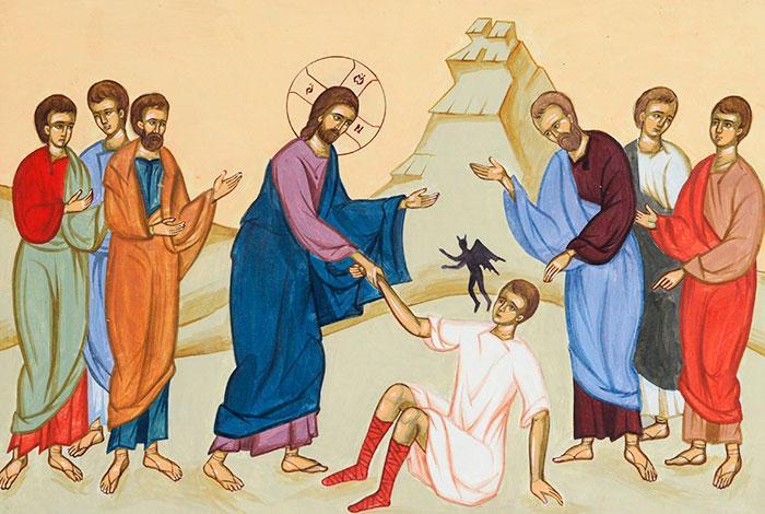 PREDICI AUDIO LA DUMINICA VINDECARII LUNATICULUI: IPS Bartolomeu Anania si Pr. Gheorghe Calciu