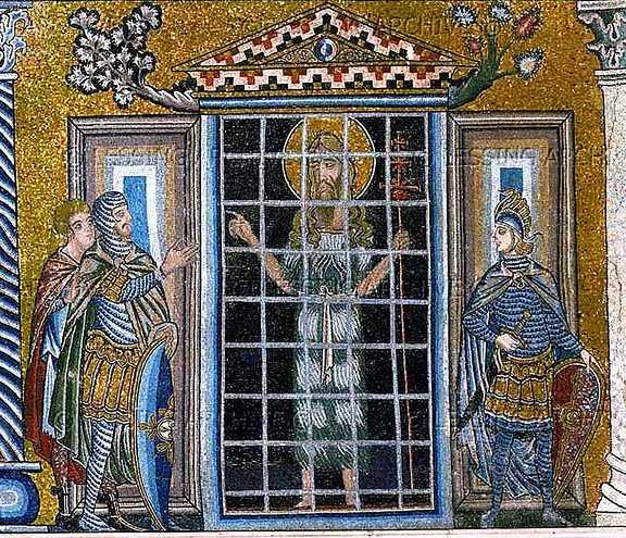 Sf Ioan Botezatorul in inchisoare