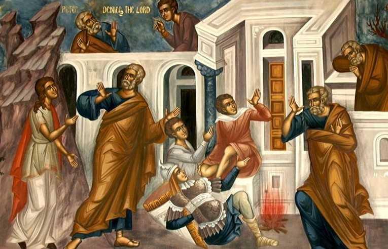 Doua caderi: Petru si Iuda. O singura ridicare. MANDRIA NU NE LASA SA PRIMIM IERTAREA SI NE DUCE LA DEZNADEJDE