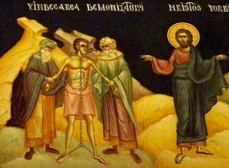PREDICI AUDIO LA DUMINICA VINDECARII DEMONIZATULUI DIN GADARA: IPS Bartolomeu Anania si Arhim. Damaschin Luchian (Sihastria Putnei). <i>Cum iesim biruitori in lupta cu diavolul? Ce face demonul din om?</i>