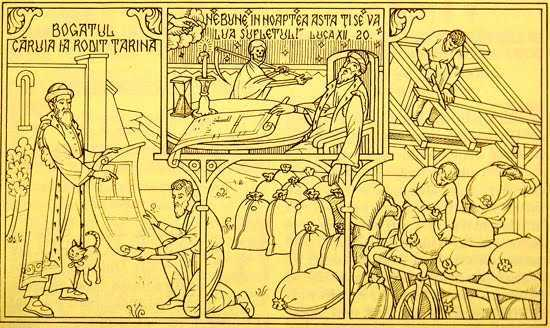 <b>Parabola bogatului caruia i-a rodit tarina</b>. TALCUIRE ACTUALA SI PROFUNDA A PR. GHEORGHE HOLBEA: <i><b>&#8220;Momentul adevarului este cel in care ramanem cu noi insine&#8221;</i></b>. VIATA &#8211; SIMULACRU si CULCUSIRE IN VREMELNICIE?