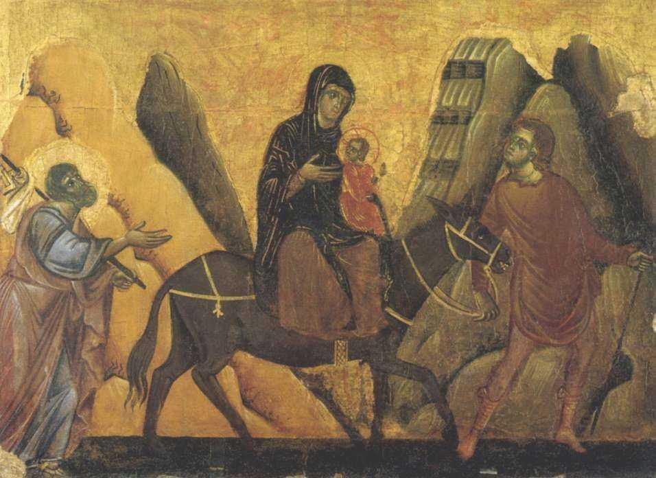 """Predica audio impresionanta la DUMINICA DUPA NASTEREA DOMNULUI a Parintelui Damaschin de la Sihastria Putnei (FUGA IN EGIPT). <b>MESAJ CRUCIAL PENTRU PARINTI: <i>""""Ia pruncul si fugi, scapa-l de lumea pacatului, de Irozii de azi!""""</i></b>"""