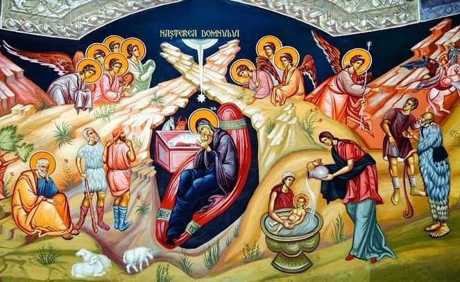 NASTEREA LUI HRISTOS. Omilia Sfantului Vasile cel Mare