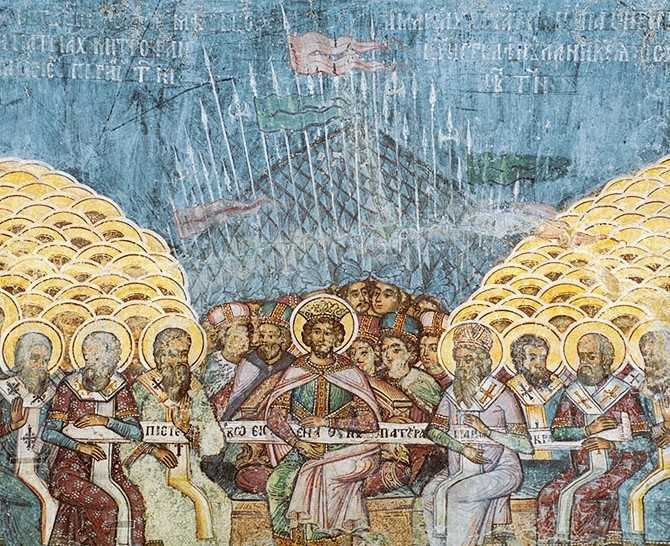 """IMPORTANTA DREPTEI CREDINTE si a """"UNITATII DUHULUI INTRU LEGATURA PACII"""": <i>Sa ramanem uniti in dragostea lui Dumnezeu ca sa ne imbracam cu putere de Sus!</i> – Cuvinte de invatatura la DUMINICA SFINTILOR DE LA SINODUL I ECUMENIC"""