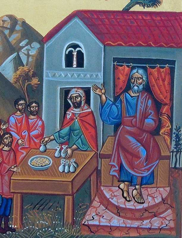 The-Rich-man-detail-from-the-icon-of-the-parable-of-the-laborers-in-the-Vineyard1