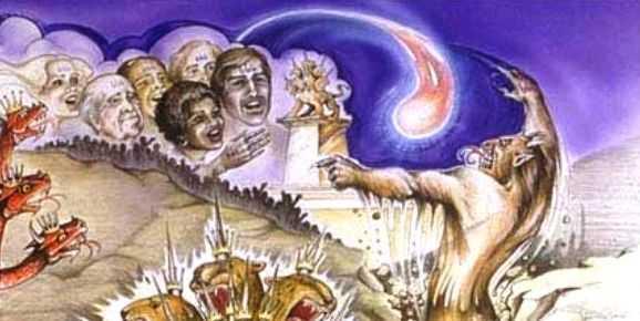 DESPRE CADEREA BABILONULUI SI FALSELE MINUNI ALE LUI ANTIHRIST. Cum sa ne ferim de inselare?