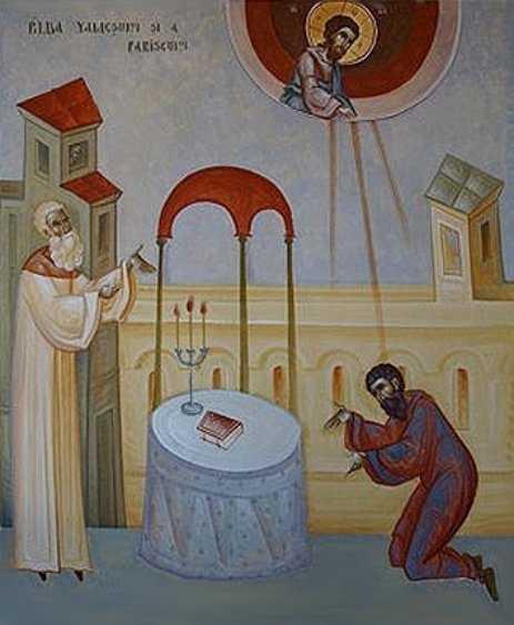 VAMESUL SI FARISEUL. Predicile Sfantului Luca al Crimeei. <i>&#8220;Dumnezeule, milostiv fii mie pacatosului!&#8221;</i>