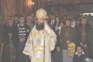 Episcopul Sebastian la Clocociov
