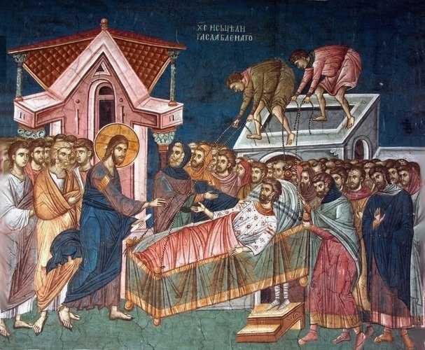 Predici in <i>Duminica a doua din Postul Mare</i> ale Sfantului Ioan de Kronstadt: PARALIZIA SUFLETULUI SI URGENTA RIDICARII PRIN POCAINTA