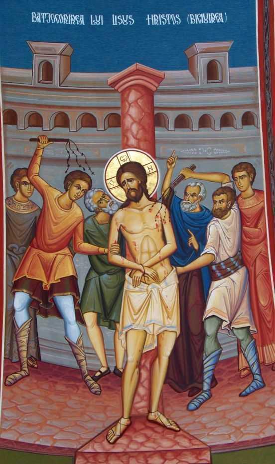batjocorirea-si-biciuirea-lui-Hristos