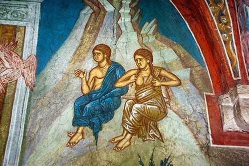 <b>Sfantul Simeon Noul Teolog</b> despre NEVOIA DE CAINTA DIN TOT SUFLETUL pentru toti crestinii. DIALOGUL LUI DUMNEZEU CU ADAM, DUPA CADERE