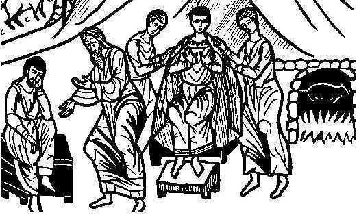 fiull risipitor primit la ospat si fratele cel mare imbufnat