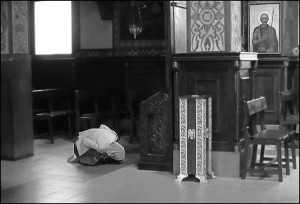 γυναίκα προσεύχεται