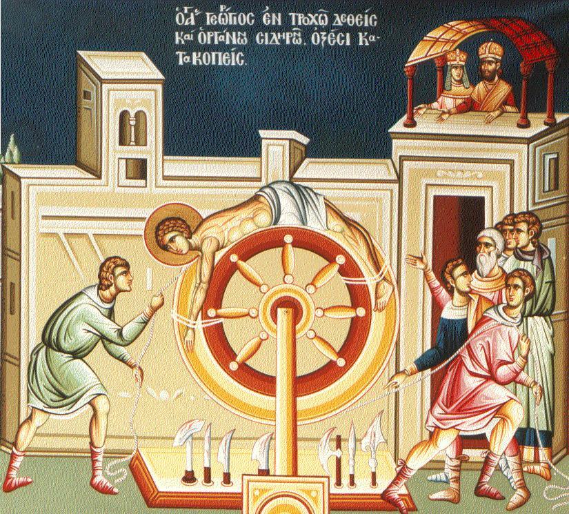 PREDICI AUDIO la SFANTUL GHEORGHE: Mucenicia &#8211; drumul lui Hristos si al celor care II urmeaza: <i>&#8220;Nu este sluga mai mare decat stapanul ei&#8230;&#8221;</i>