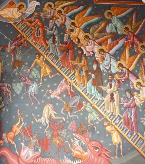"""SCARA RAIULUI. Predica Sfantului Iustin Popovici in <b>Duminica Sfantului Ioan Scararul</b>. <i>""""Doamne, eu nu sunt nimic. Tu esti totul!""""</i>"""