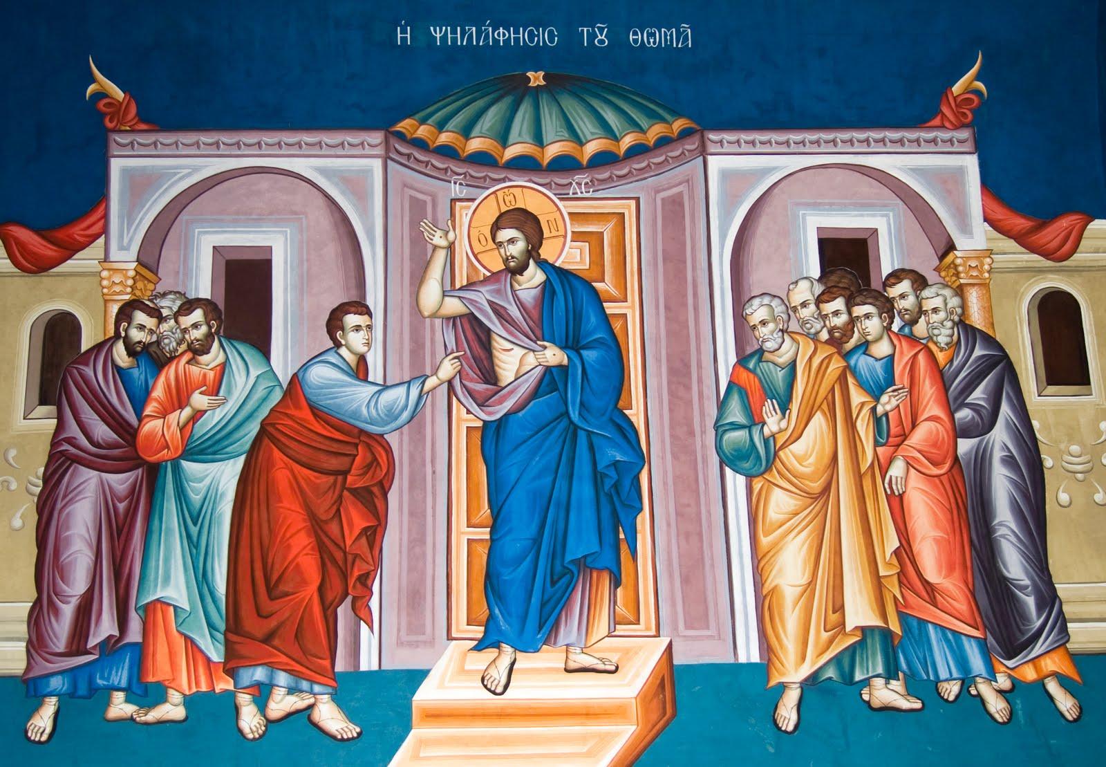 Predici la Duminica Sfantului Apostol Toma: LUPTA PENTRU A AVEA CREDINTA VIE. Ce ne tine inca in <i>necredinta</i>, departe de Dumnezeu?