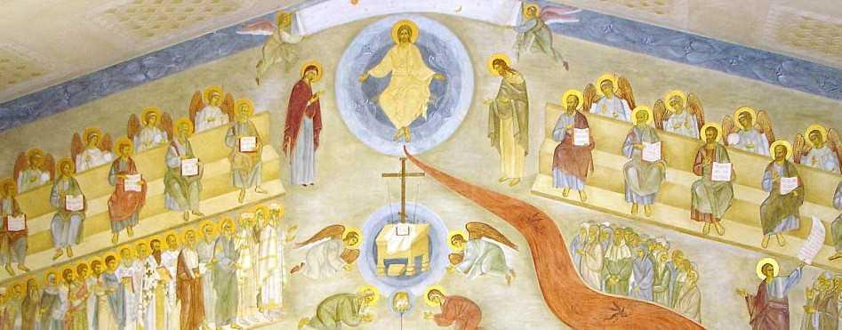 Biserica noua Essex Man Sf. Ioan Botezatorul - Judecata de Apoi