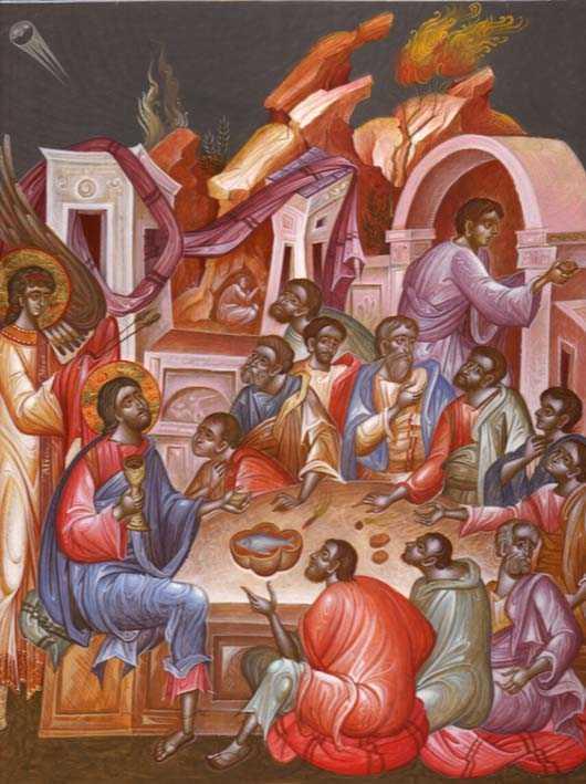 CUVINTE TARI SI SFREDELITOARE ale Sfantului Luca al Crimeei, in <b>Miercurea Patimilor</b>: <i>&#8220;O, groaza! O, negraita josnicie, ticalosie neasemuita! OARE NU ESTE SI IN NOI FATARNICIE?&#8221;</i>