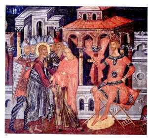Iisus la Pilat