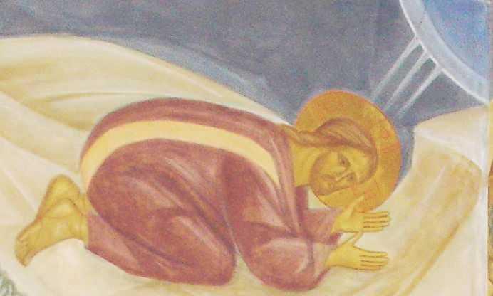 Mantuitorul in rugaciune catre Tatal