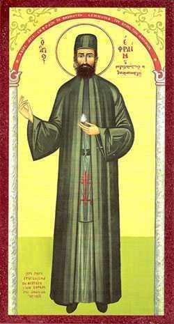 Sfantul-Efrem-cel-Nou-Mare-Mucenic-Nea-Makri-Grecia-Attica