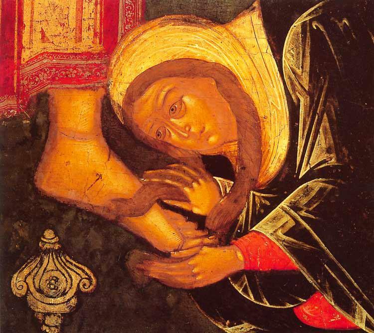 <I>CAMARA TA, MANTUITORULE&#8230;</i>. <i>Femeia pacatoasa</i> care a spalat cu lacrimi picioarele lui Iisus &#8211; pilda luminoasa de POCAINTA si de INCREDERE in adancul indurarilor Domnului: <i><b>FARA DEZNADEJDE!</b></i>