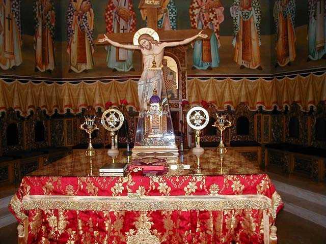 """Sfantul Iustin Popovici: SFINTELE TAINE NU AU NUMAR: <i>""""Toate in Biserica sint Sfinta Taina, <b>TOATE</b>: de la lucrul cel mai marunt, pina la cel mai mare""""</i>"""