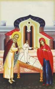 Proorocul Ilie, vaduva din Sarepta Sidonului si fiul ei inviat