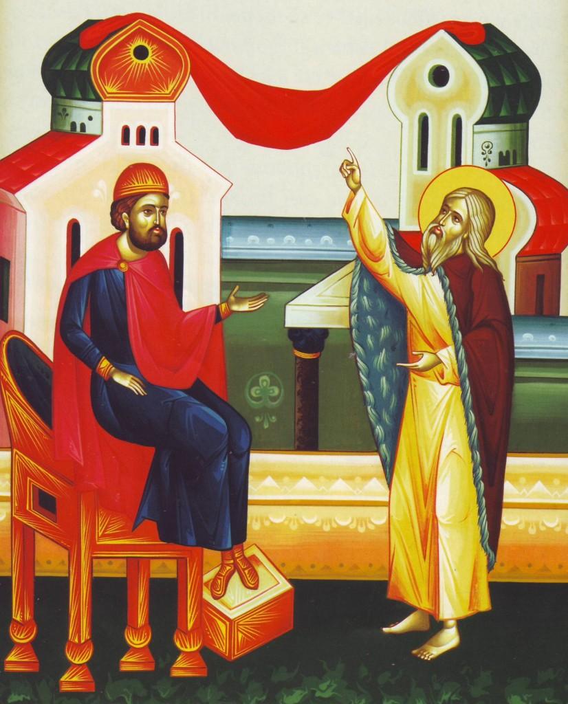 Sfantul Ilie si regele Ahab - inchiderea cerului
