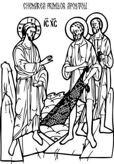 chemarea primilor apostoli