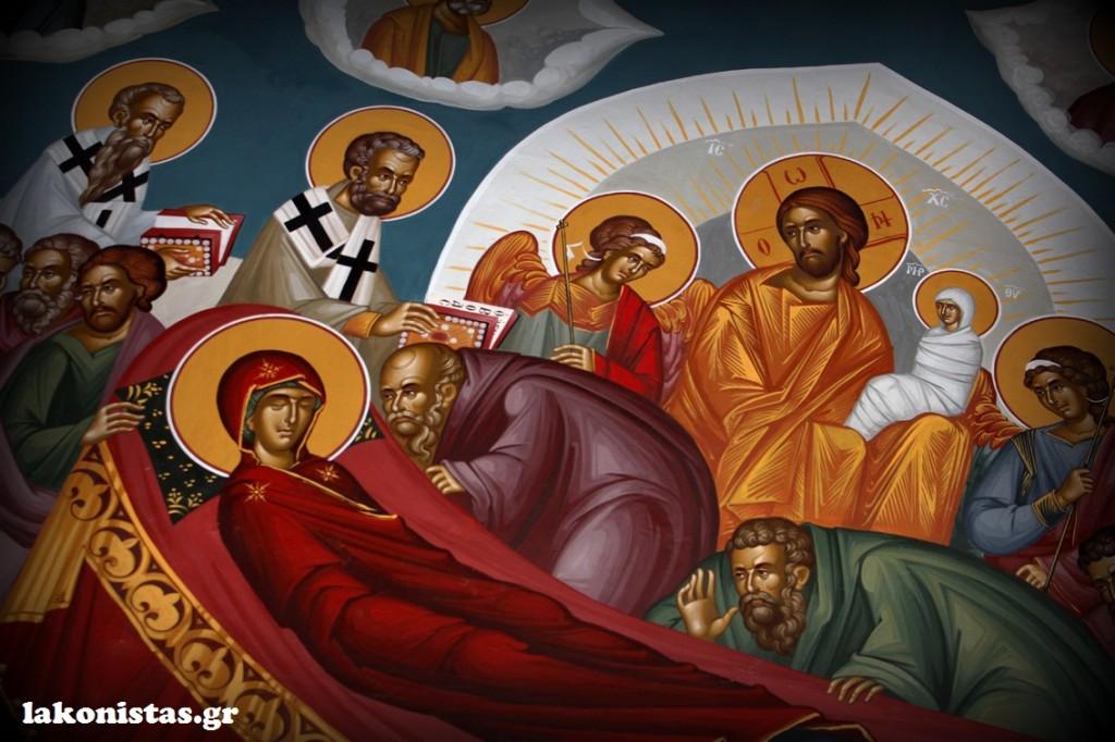 αναβρυτή-λακωνία-ταύγετος-μονή-φανερωμένης-lakonistas-anavryti-faneromeni-into-the-church-κοίμηση-της-θεοτόκου-dormition-of-mother-Mary-