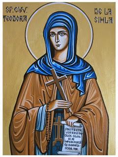 Sf Teodora de la Sihla blog