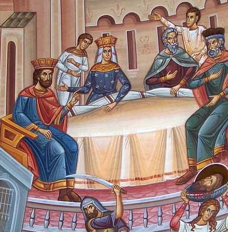 Taierea capului Sf Ioan Botezatorul2