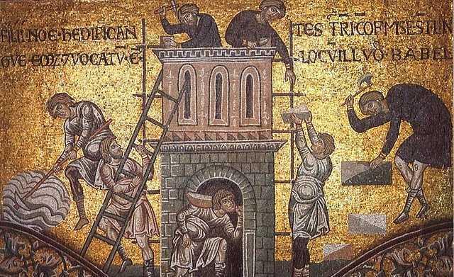 Construirea Turnului Babel