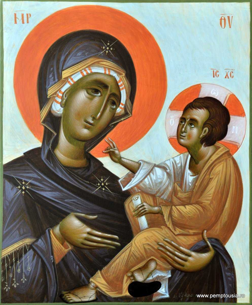 NASTEREA MAICII LUI DUMNEZEU SI A NOASTRA, milostiva mijlocitoare a celor pacatosi si nadejdea cea ne-rusinata in neputinte si nevoi