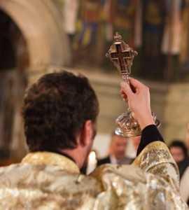 preot cruce cununie - detaliu