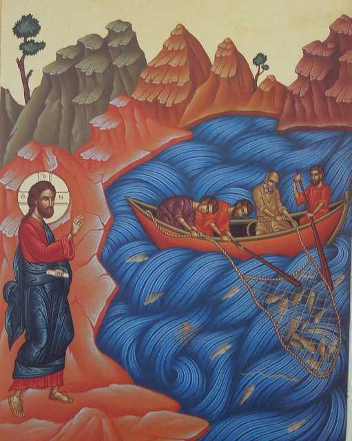"""EVANGHELIA PESCUIRII MINUNATE. <b>Predica exceptionala a Sfantului Nicolae Velimirovici</b>: <i>""""Cat de zadarnice sunt toate stradaniile omenesti fara ajutorul lui Dumnezeu… Dumnezeu rasplateste mai mult ascultarea decat truda""""</i>"""