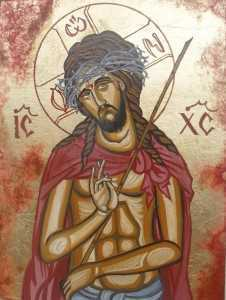 tablouri_religioase_buclea_cristian_-_petru_iisus_hristos_cu_coroana_de_spini