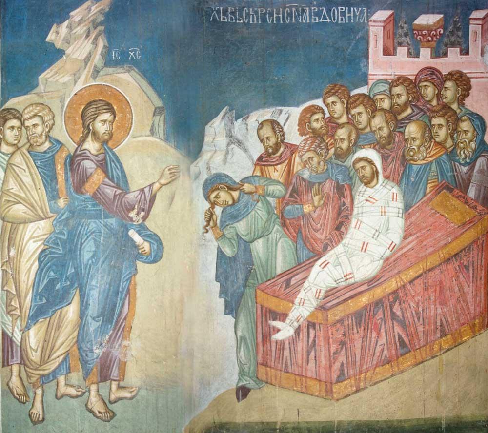 <b>Invierea fiului vaduvei din Nain</b>. CUM NE MANGAIE DUMNEZEU