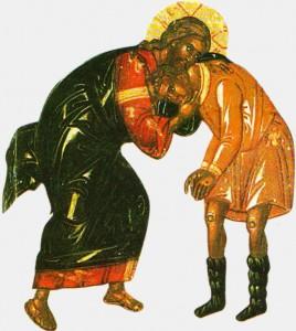 fiul risipitor si Tatal imbratisandu-l