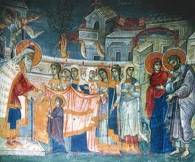 Intrarea Maicii Domnului in Biserica 13