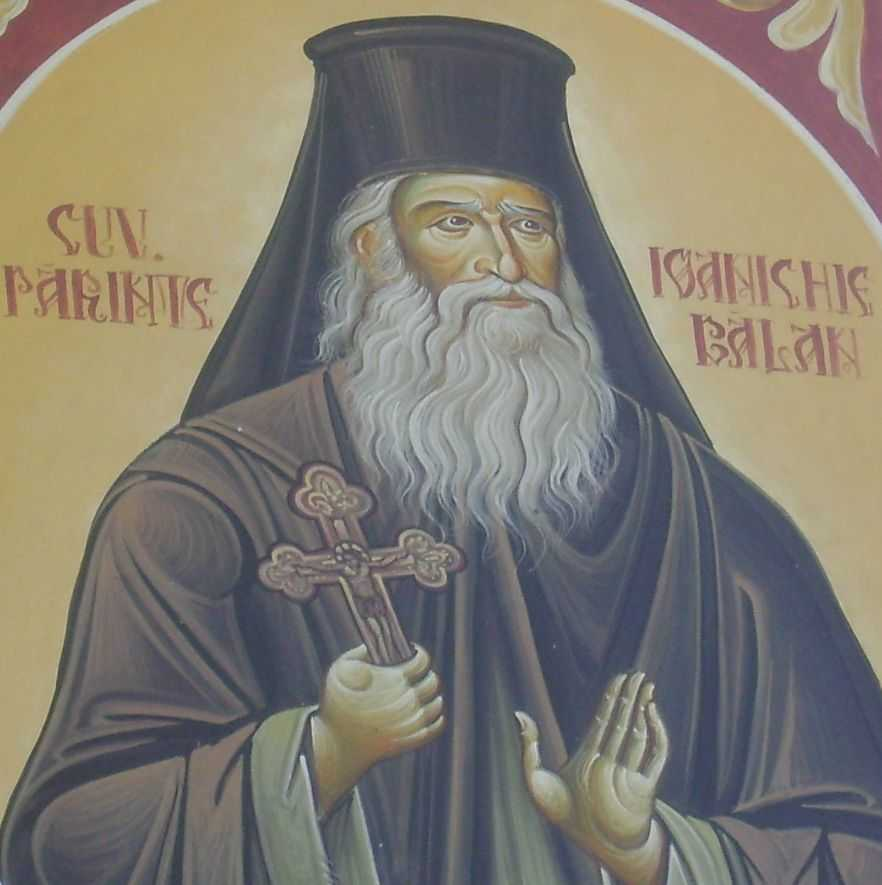 Parintele Ioanichie - fresca seminar Neamt