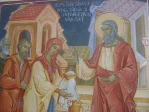 Sfantul Prooroc Ilie si vaduva din Sarepta Sidonului