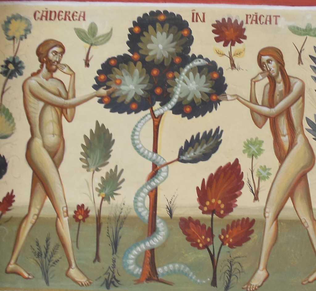 caderea in pacat Adam Eva