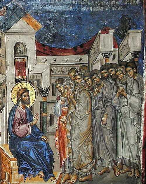 Iisus si Apostolii - cuvantarea de pe urma