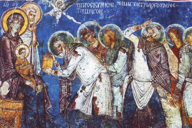 """Pastorala de Craciun a PS SEBASTIAN, Episcopul Slatinei (2013): DARURILE MAGILOR SI """"DARURILE"""" NOASTRE"""