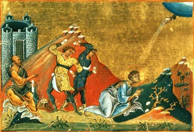 PRIGOANA BISERICII SI A SLUJITORILOR EI. <i>CALOMNIA</i>, ARMA SATANICA PREDILECTA &#8211; Predica Parintelui Damaschin Luchian de la Sihastria Putnei la praznicul Sfantului Arhidiacon Stefan, 2011 &#8211; <i>(audio + text)</i>