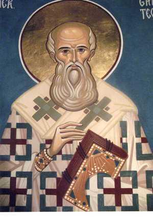 Det. Sf. Ier. Grigore Teologul, altar - Rosiori