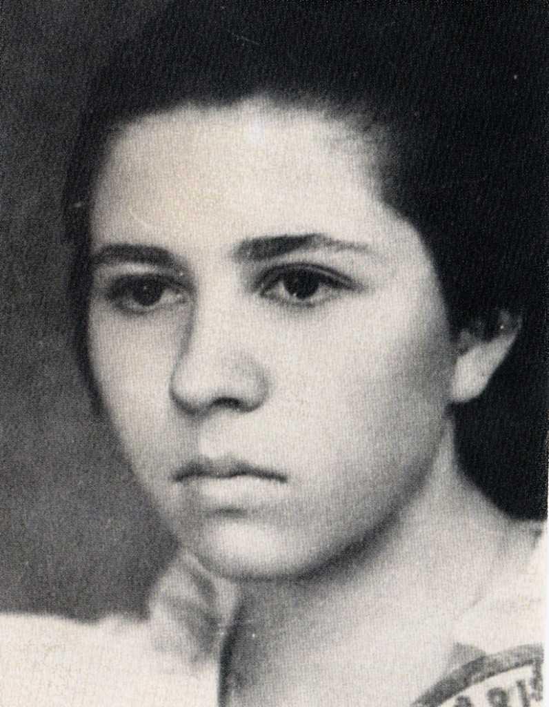 Galina Raduleanu, dupa eliminarea din liceu, 1952