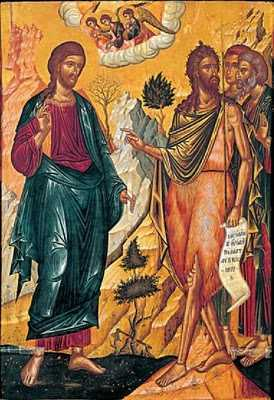 Ioan Botezatorul, ucenicii si Mantuitorul